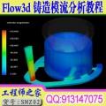 全国首套FLOW3D铸造模流分析语音视频教程 送软件