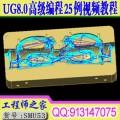 UG8.0高级数控编程钢料电极CNC加工25例视频教程