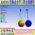 ANSYS Workbench结构动力学工程培训视频教程