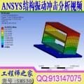 ANSYS18.0 结构振动冲击有限元分析计算方法高级培训视频教程